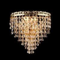 Настенный светильник 3402/2 золото Strotskis