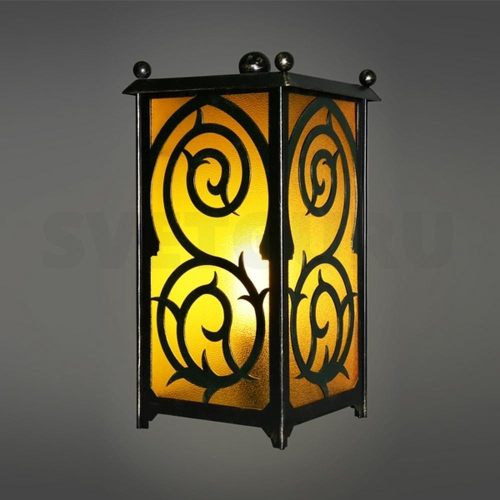 Уличный светильник из металла своими руками